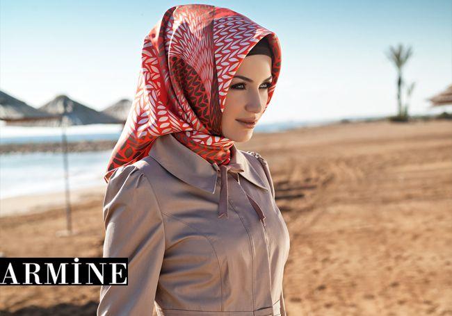 Armine Scarf Moda by Kamer Textile  ARMINE 2013 - New Turkish Hijab Style