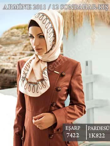 Armine Scarf Moda by Kamer Textile  Beautiful Armine 2011-12 Autumn / Winter collection