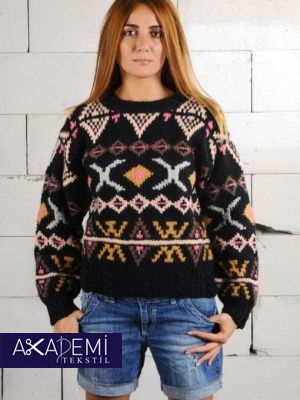 AKADEMI TEXTILE LTD. 2013 Ladies Sweaters Collection