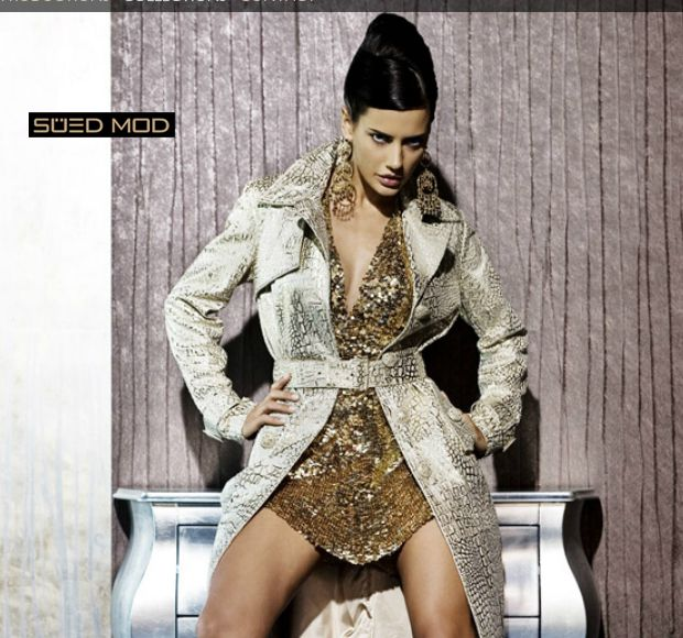 SUED MOD LEATHER FASHION Collection  2014