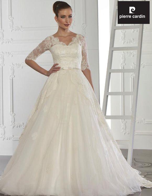 33fc3f5aa63b6 ... Pierre Cardin Gelinlik Pierre Cardin Wedding Dresses Collection 2013 ...