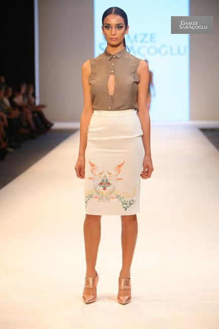 GAMZE SARACOGLU   Gamze Fashion  Колекция  2013