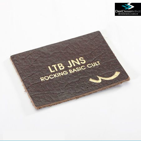 Collection Leather Tags DERI DESEN LABELS SANAYI IC LTD.