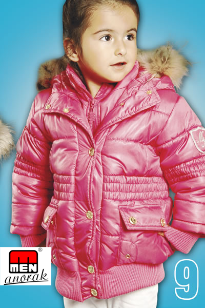 Children's Jackets Collection 2013 MEN ANORAK TEXTILE LTD.