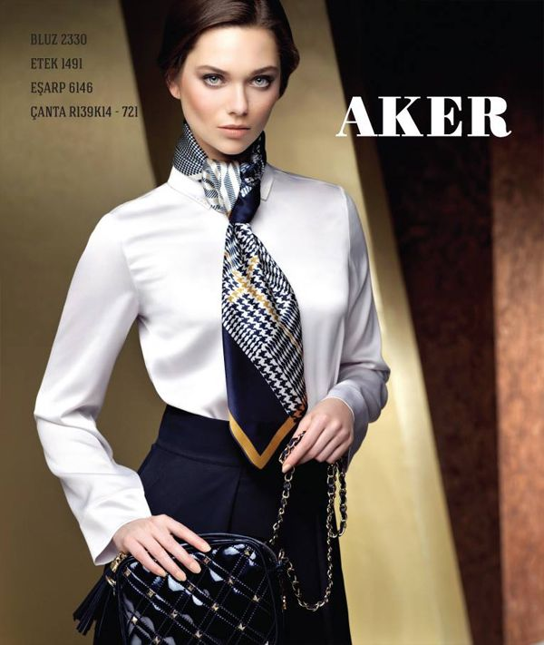 AKER Bags Collection 2013 AKER SCARF