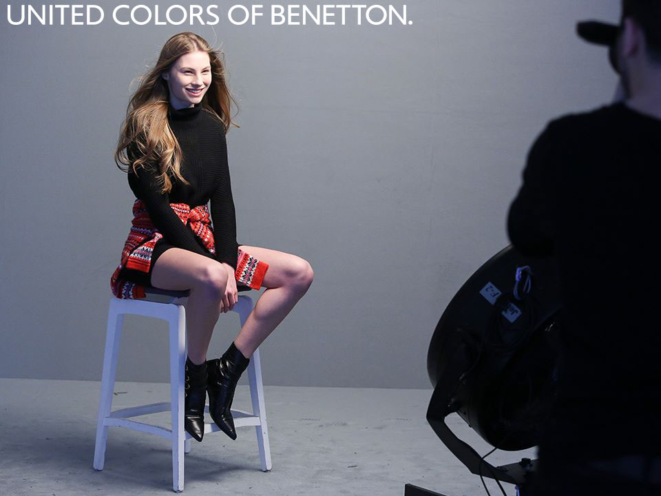 UNITED COLORS OF BENETTON CLOTHING  Collection Fall/Winter 2015