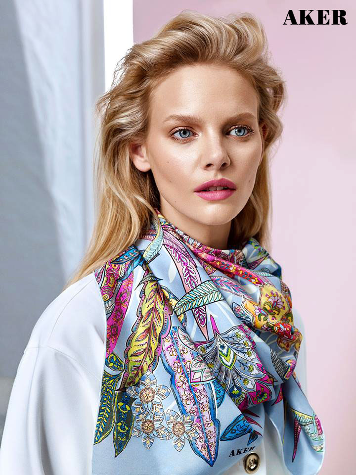 AKER SCARF Collection Spring/Summer 2016