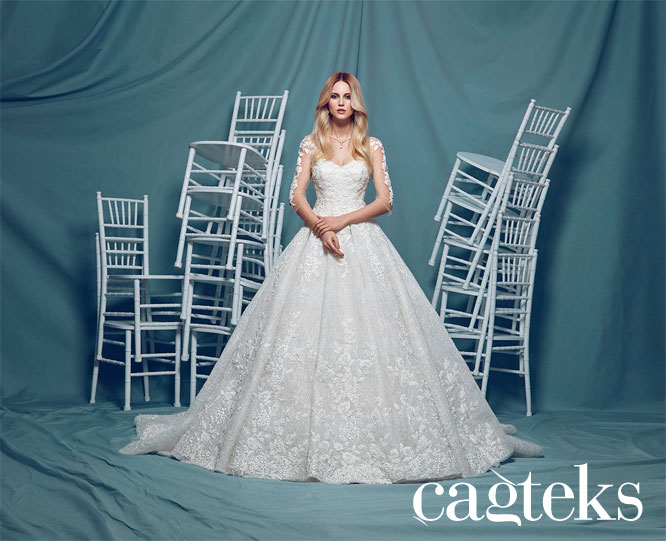 CAGTEKS WEDDING GOWNS AND EVENING DRESSES Collection 2016 | Turkish ...
