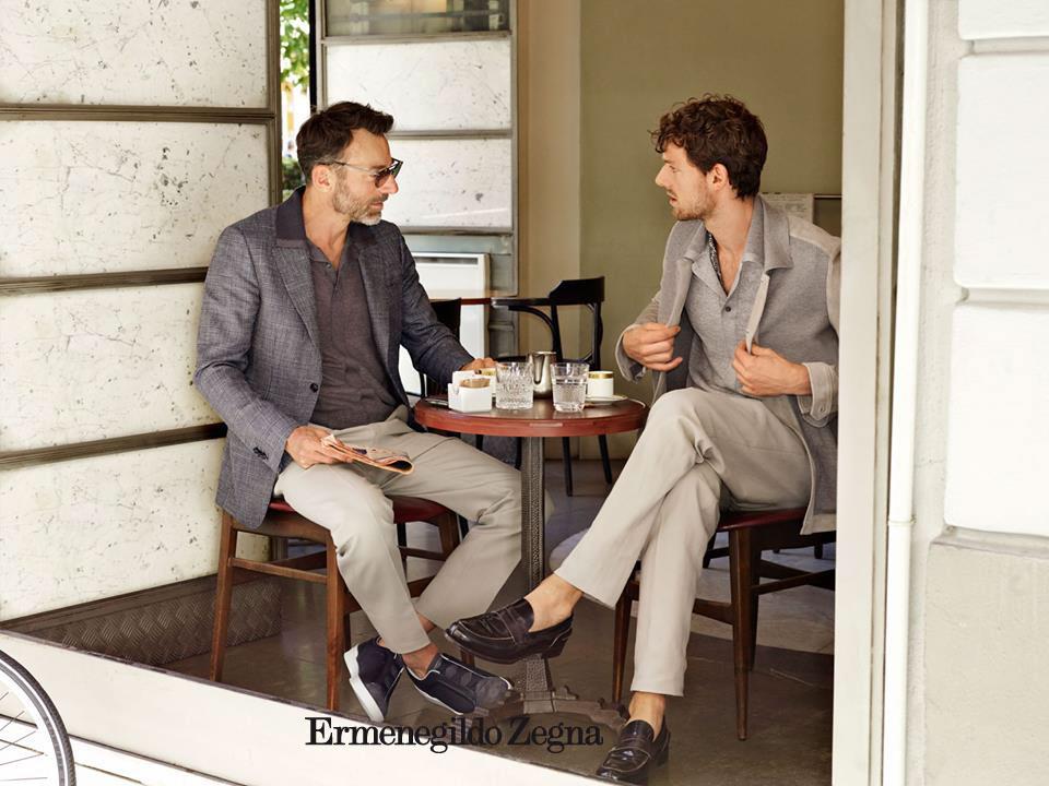 ERMENEGILDO ZEGNA CLOTHING  Collection  2017