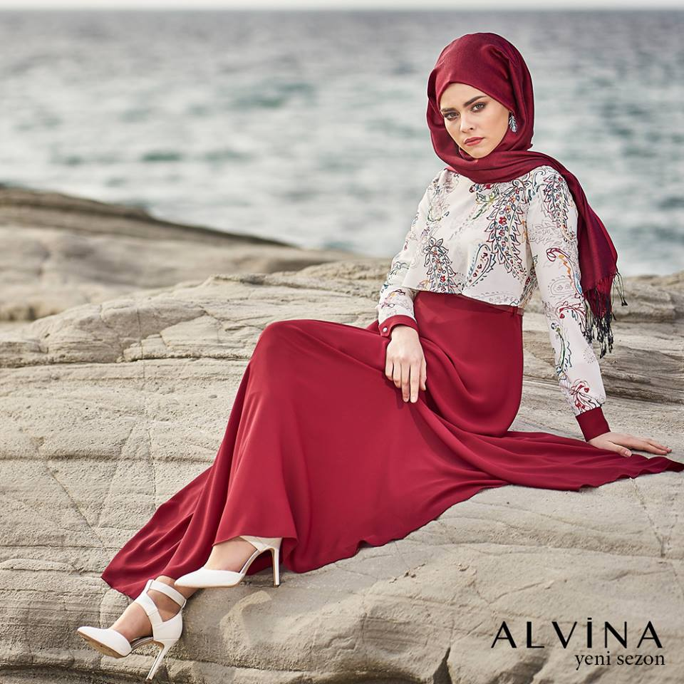 Alvina Hijab Fashion Collection  2017