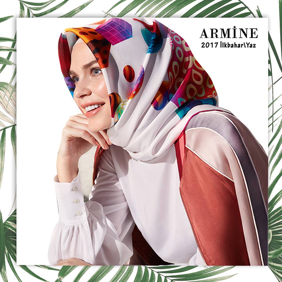 Armine Scarf Moda by Kamer Textile  Collection Spring/Summer 2017