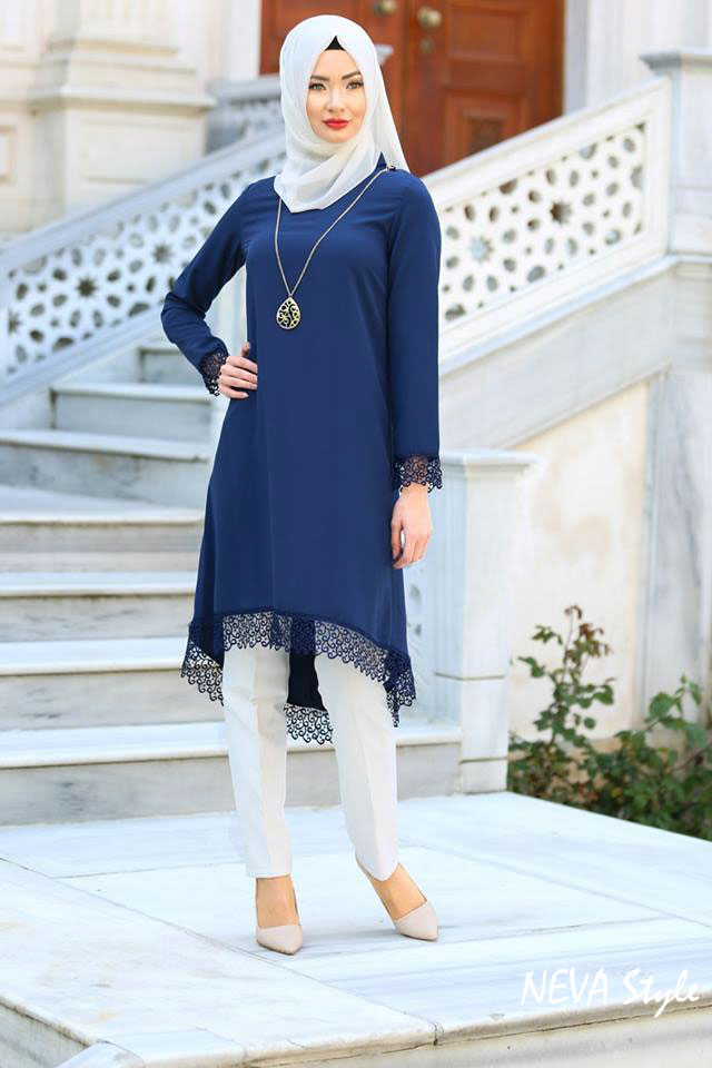 NEVA STYLE HIJAB FASHION Collection  2017