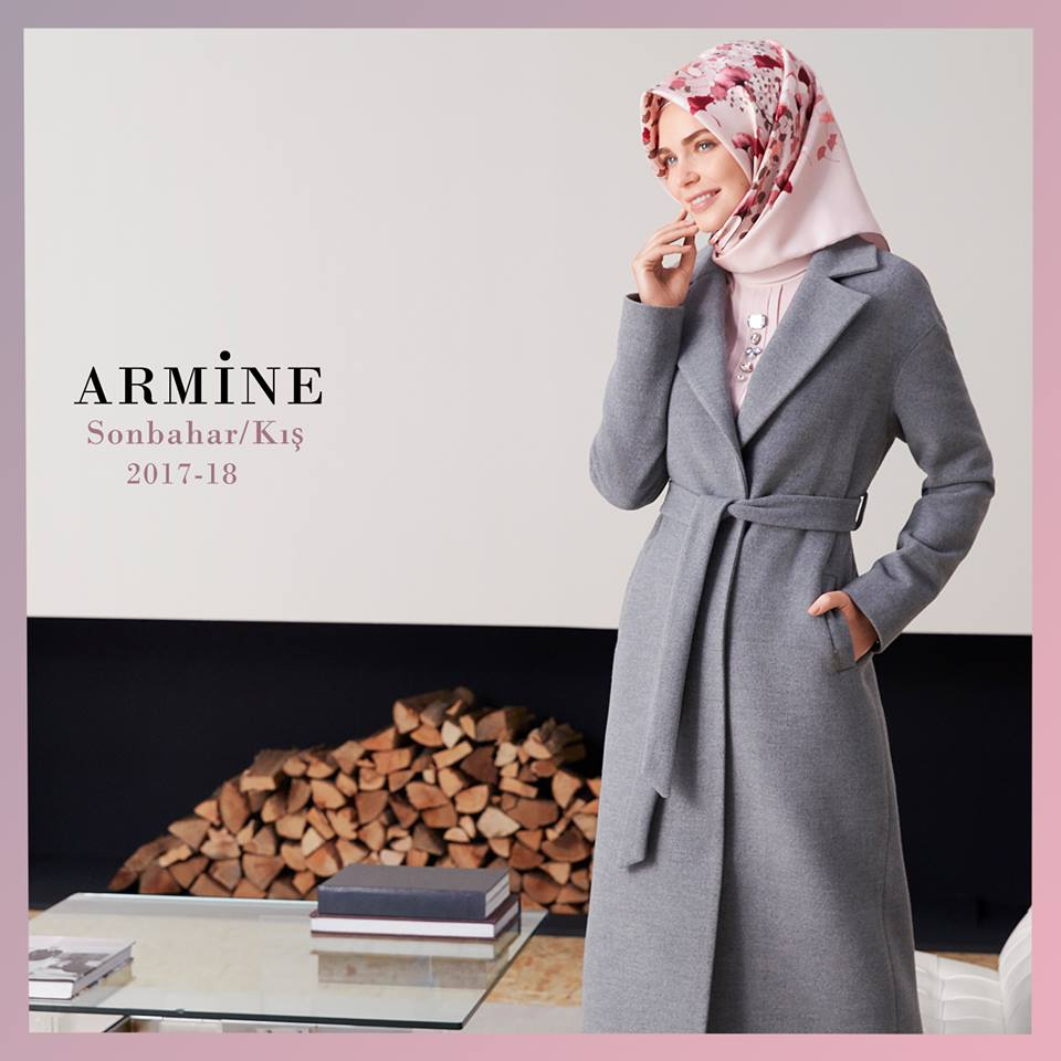 Armine Scarf Moda by Kamer Textile  Collection Fall/Winter 2017