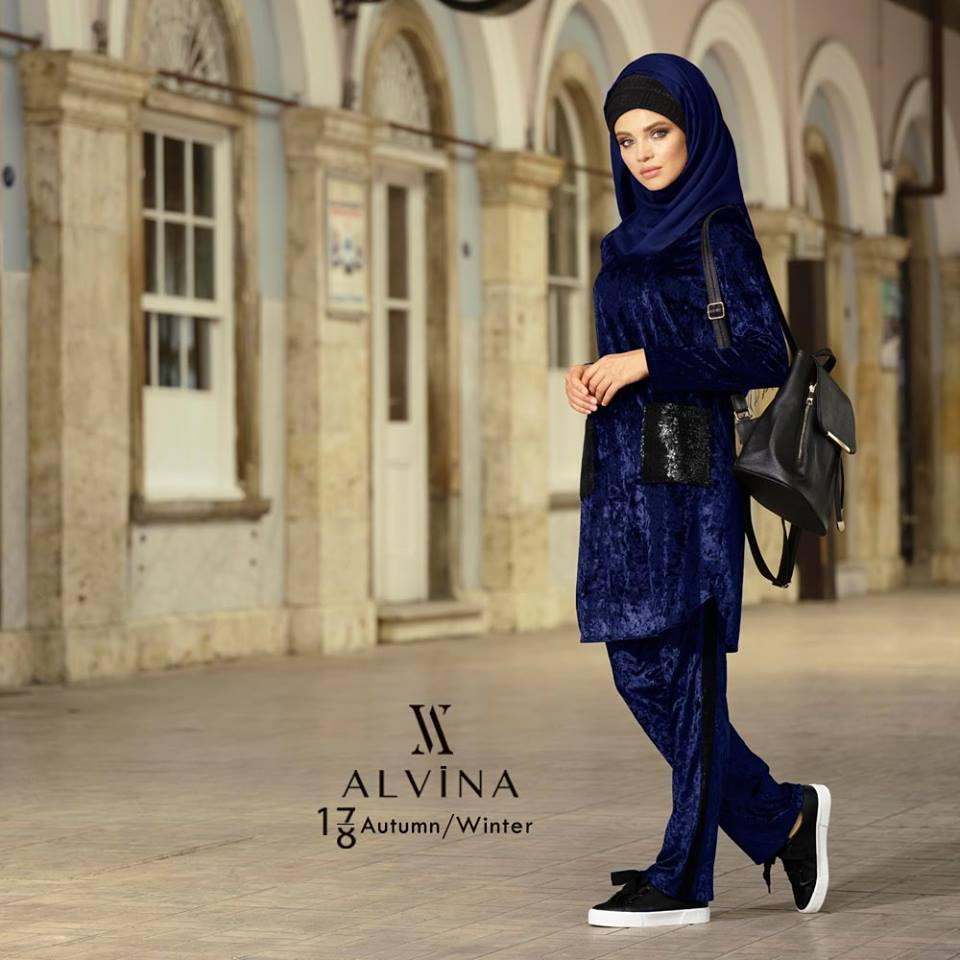 Alvina Hijab Fashion Collection Fall/Winter 2017