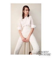 White Posture Collection Spring/Summer 2016