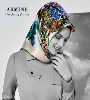 Armine Scarf Moda by Kamer Textile  Collection Spring/Summer 2016
