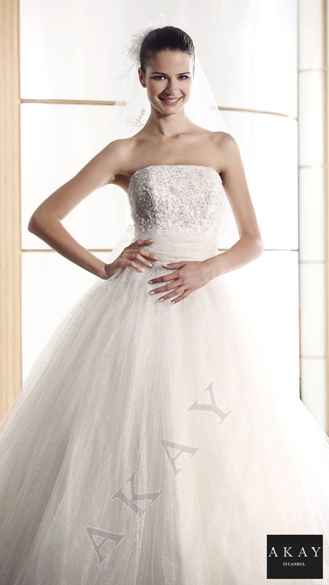 akay wedding dresses collection 2014 turkish fashionnet