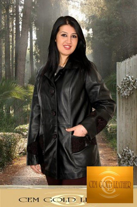 Collection Leather Clothing 2014 - CEM GOLD LEATHER