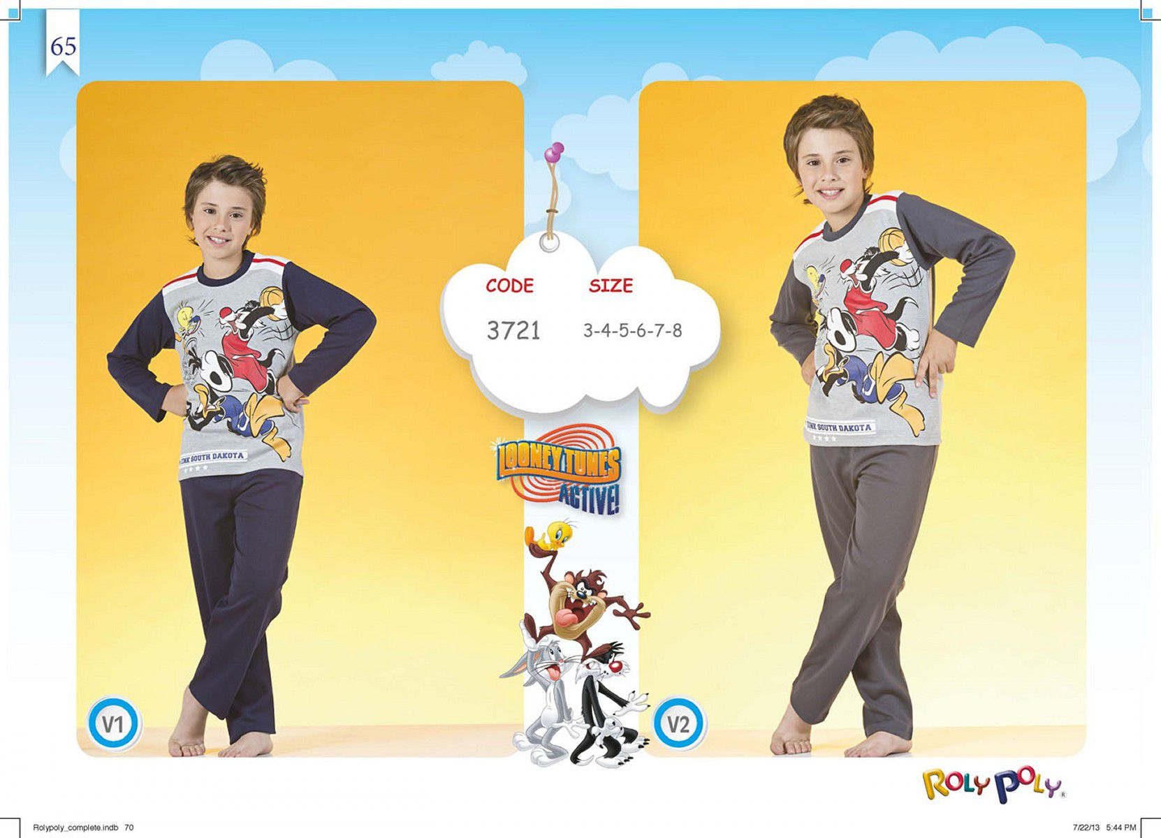 YASIN TEXTILE | ROLY POLY  Collection Sleepwear 2014