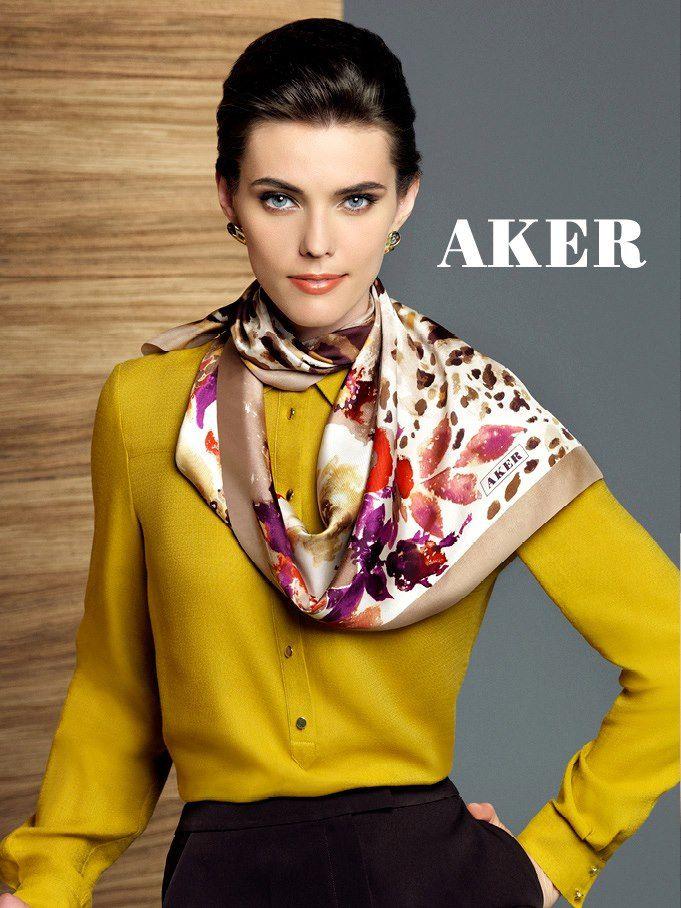 AKER SCARF  - TurkishFashion.net