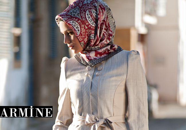 Armine Scarf Moda by Kamer Textile   - TurkishFashion.net