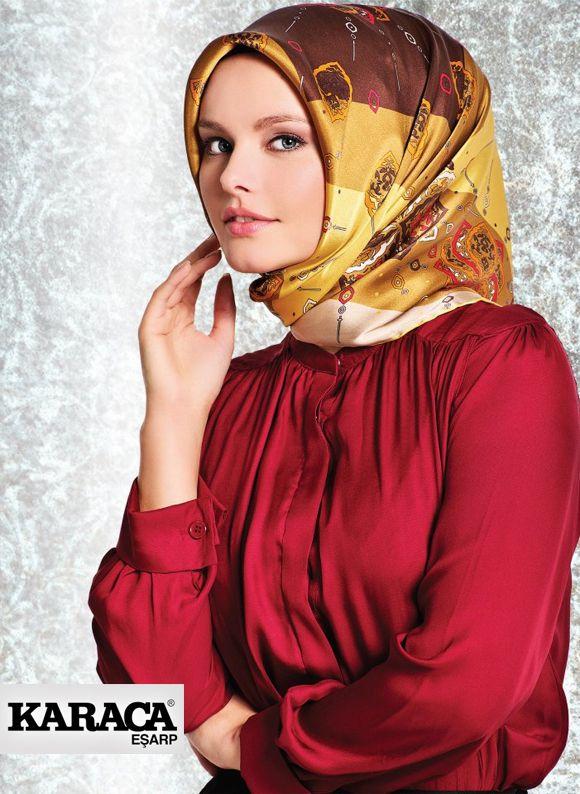 Karaca Scarves  - TurkishFashion.net
