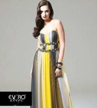 EVRO EVENING DRESS  - TurkishFashion.net