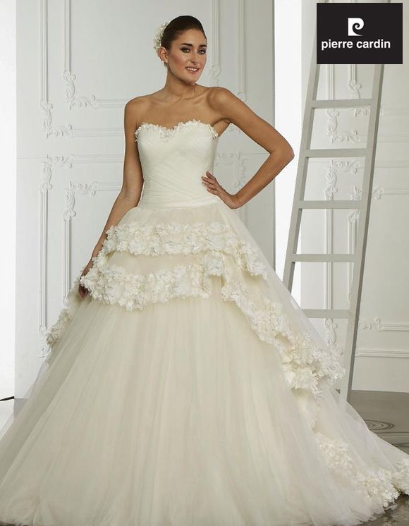 Collection Bridal dresses 2014 Pierre Cardin Bridal Dresses