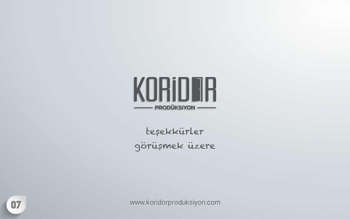 Corridor Production  - TurkishFashion.net
