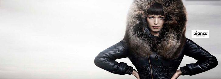 SILVANO Leather & Fur SOFA LEATHER